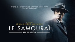 A film by Jean-Pierre Melville Le Samourai Alain Delon - There is no solitude greater than that of the samurai